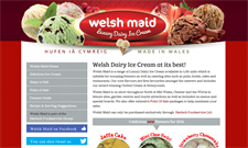 Welsh Maid dairy ice cream